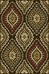 Product Image of Brown, Red, Gold (LGN-5008) Damask Area Rug