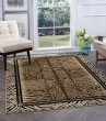 Product Image of Beige, Black, Tan Contemporary / Modern Area Rug