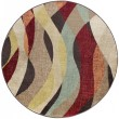 Product Image of Brown, Red, Rust Contemporary / Modern Area Rug