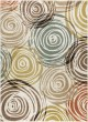 Product Image of Ivory, Beige, Blue Contemporary / Modern Area Rug