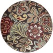 Product Image of Brown, Red, Rust Floral / Botanical Area Rug