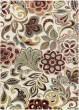 Product Image of Ivory, Red, Rust Floral / Botanical Area Rug
