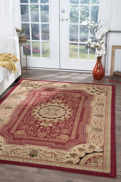 Red (4670) Traditional / Oriental Area Rug