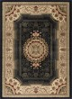 Product Image of Traditional / Oriental Black (4673) Area Rug