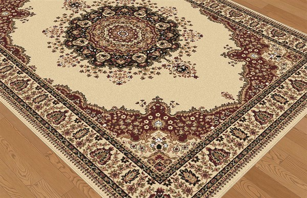 Ivory (4702) Traditional / Oriental Area Rug