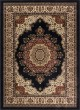 Product Image of Traditional / Oriental Black (4703) Area Rug