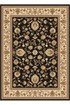 Product Image of Traditional / Oriental Black (4723) Area Rug