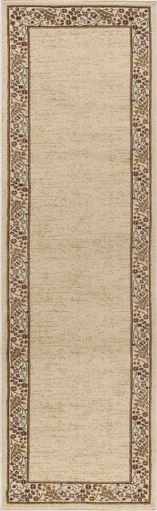 Ivory (4742) Bordered Area Rug