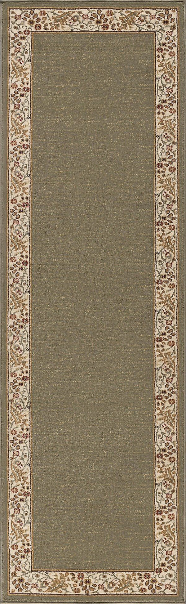 Green (4745) Bordered Area Rug
