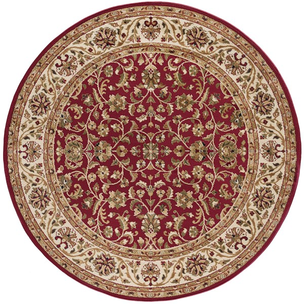 Red, Beige, Green (4810) Traditional / Oriental Area Rug