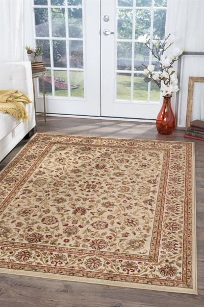 Ivory (4812) Traditional / Oriental Area Rug