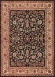Product Image of Traditional / Oriental Black (4813) Area Rug