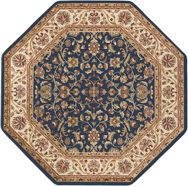 Navy (4817) Traditional / Oriental Area Rug