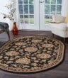 Product Image of Black (SNS4853) Traditional / Oriental Area Rug