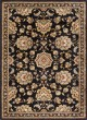 Product Image of Traditional / Oriental Black (SNS4853) Area Rug