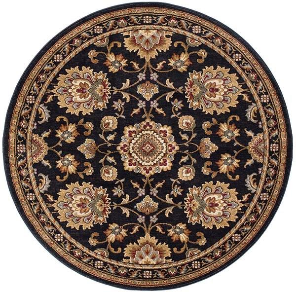 Black (SNS4853) Traditional / Oriental Area Rug