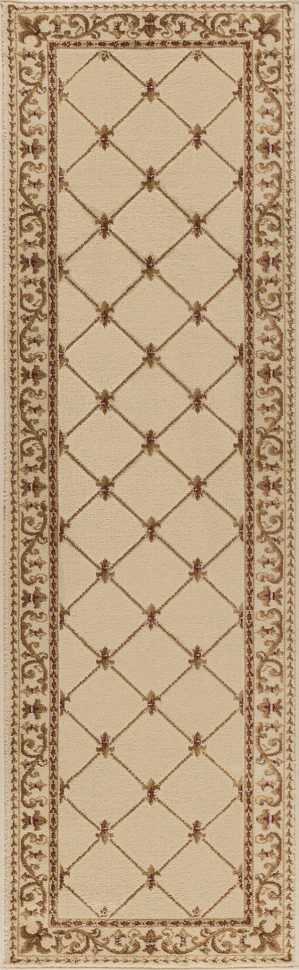 Ivory (SNS-4882) Traditional / Oriental Area Rug