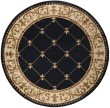 Product Image of Black (SNS-4883) Traditional / Oriental Area Rug