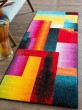 Product Image of Blue, Red, Green, Magenta Contemporary / Modern Area Rug