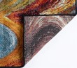 Product Image of Red, Orange, Blue Contemporary / Modern Area Rug
