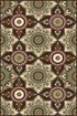 Product Image of Brown, Beige, Green, Rust (MJS-1408) Floral / Botanical Area Rug