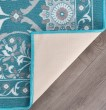 Product Image of Teal (MJS-3415) Moroccan Area Rug