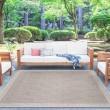 Product Image of Cream, Natural Beige (SRN-1016) Outdoor / Indoor Area Rug