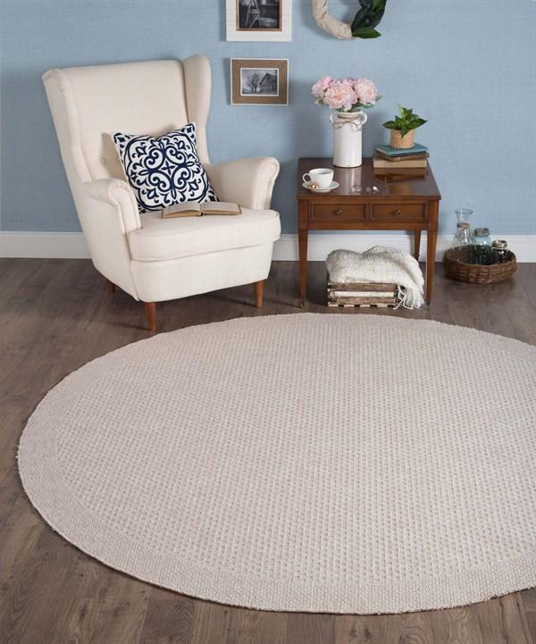 Cream (SRN-1017) Outdoor / Indoor Area Rug