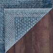 Product Image of Blue, Gray (SRN-1027) Outdoor / Indoor Area Rug