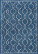 Product Image of Contemporary / Modern Indigo, Light Gray (VND-1614) Area Rug