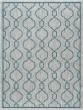 Product Image of Contemporary / Modern Teal, Light Gray (VND-1615) Area Rug