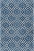 Product Image of Indigo, Light Gray (VND-1714) Moroccan Area Rug