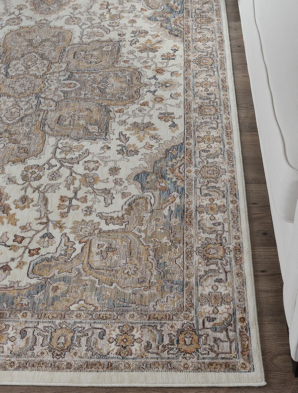 Ivory (FVW-3302) Traditional / Oriental Area Rug