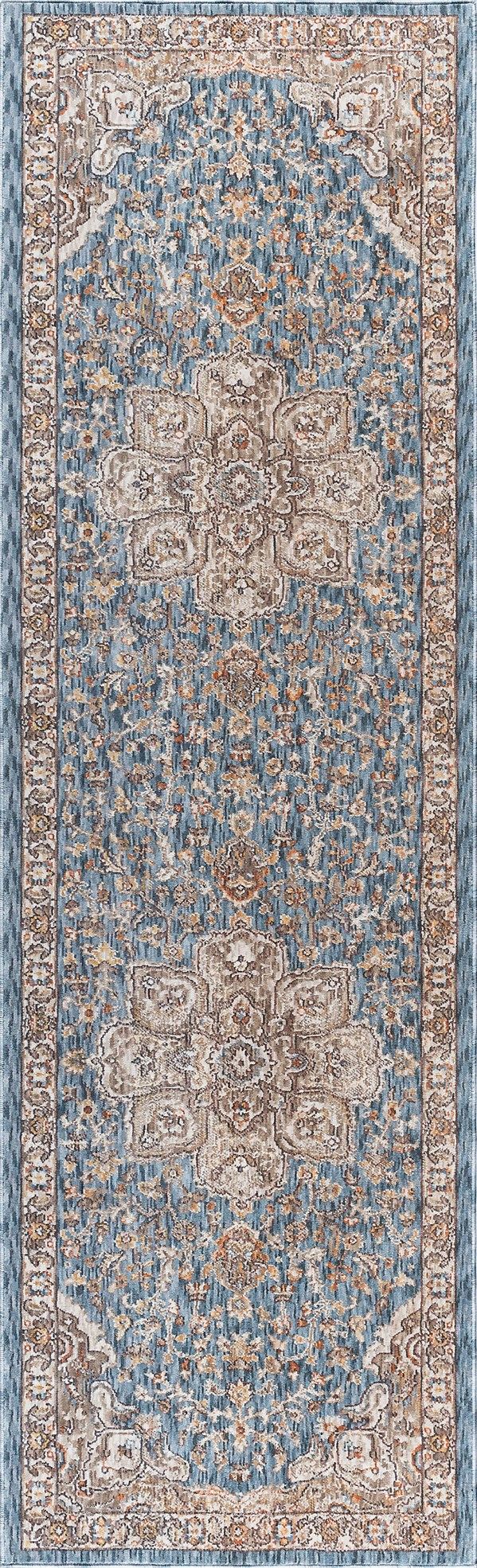Navy (FVW-3307) Traditional / Oriental Area Rug