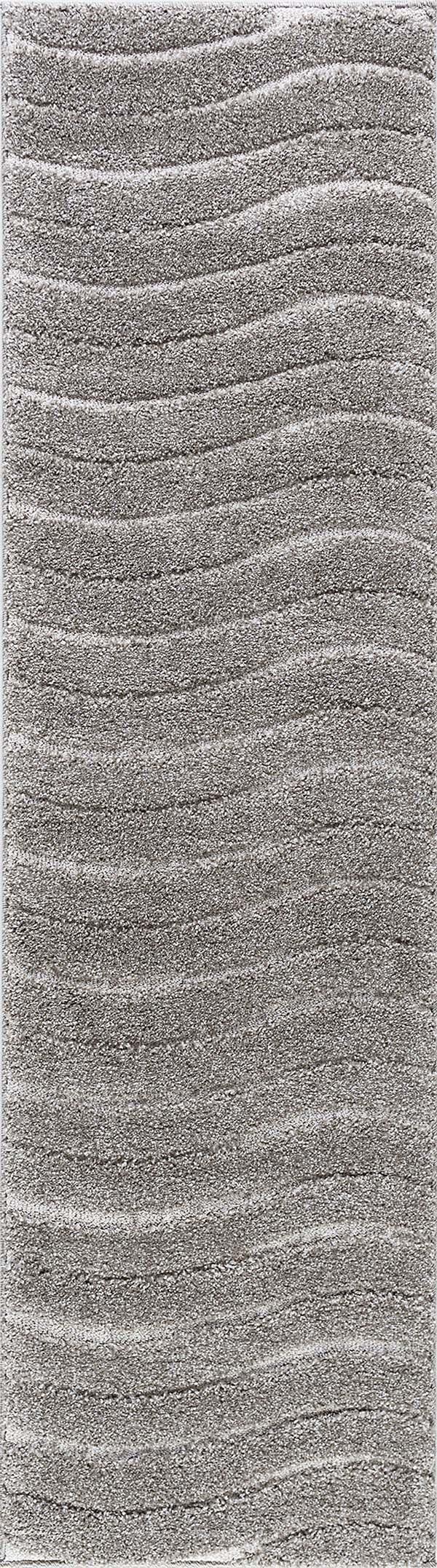 Taupe, Grey (BRK-1309) Shag Area Rug