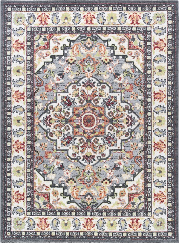 Tan, Ivory (MLN-4101) Traditional / Oriental Area Rug