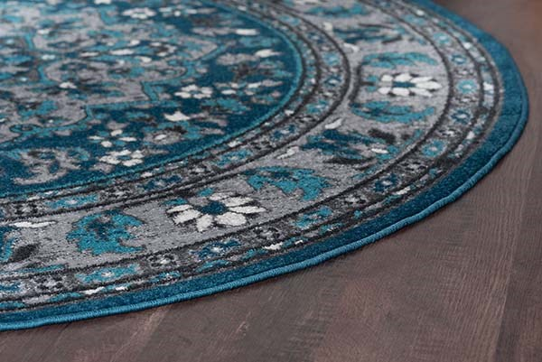 Blue (MLN-4106) Traditional / Oriental Area Rug