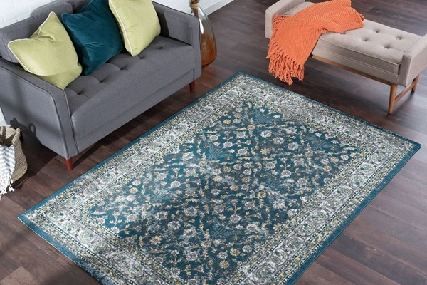 Navy (MLN-4307) Traditional / Oriental Area Rug