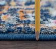 Product Image of Blue, Orange, Pink Bohemian Area Rug