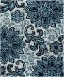 Product Image of Floral / Botanical Blue, Cream (JSM4317) Area Rug