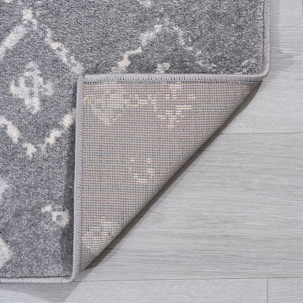 Grey (JSM4509) Bohemian Area Rug