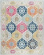 Product Image of Bohemian Cream, Blue, Pink (JSM4601) Area Rug