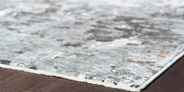 Grey (VEN0309) Abstract Area Rug