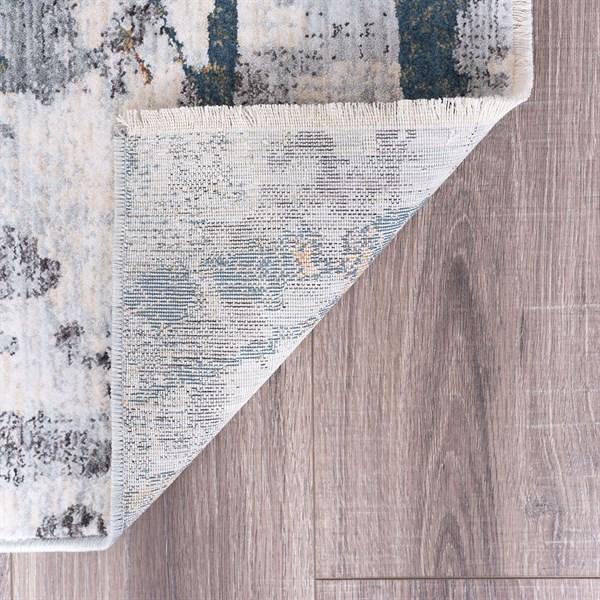 Grey (VEN1609) Contemporary / Modern Area Rug