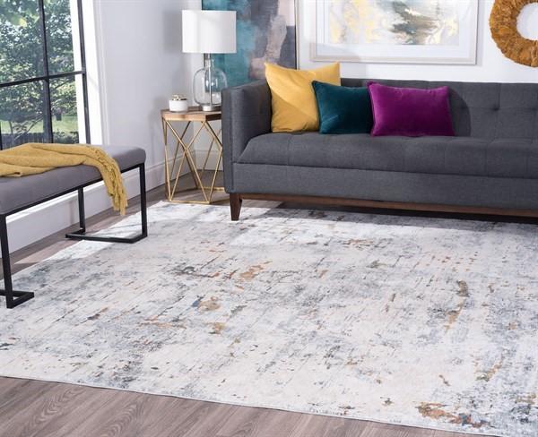 Grey (VEN2209) Contemporary / Modern Area Rug