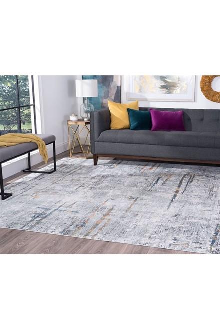 Grey (VEN2309) Contemporary / Modern Area Rug