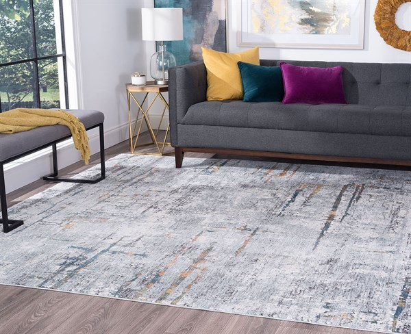 Grey (VEN2309) Contemporary / Modern Area Rug