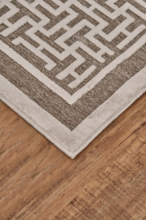 Pewter, Light Gray Transitional Area Rug