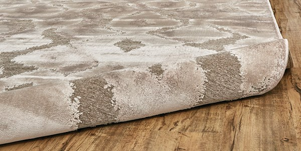 Pewter, Grey Moroccan Area Rug