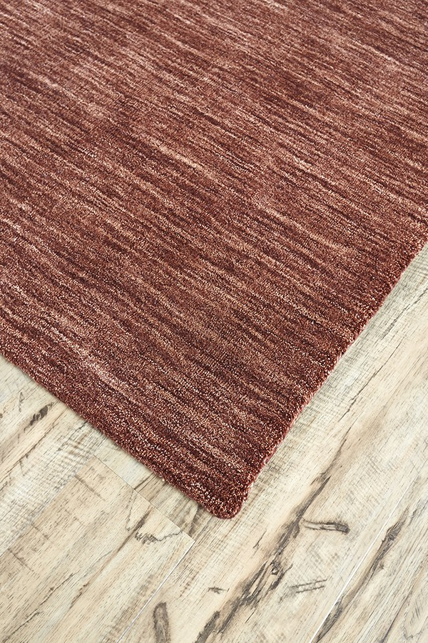 Rust Casual Area Rug